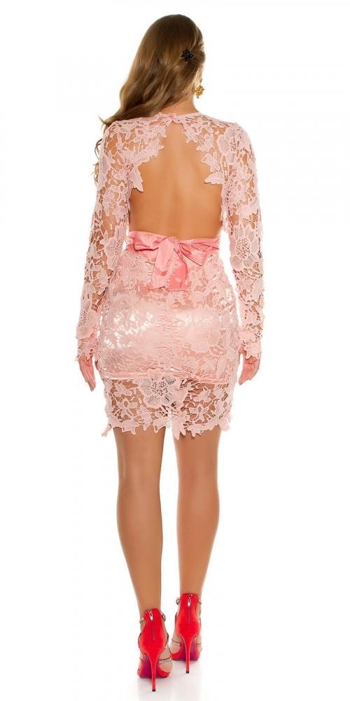 edf8ff491b Rózsaszín alkalmi csipkés ruha - Női ruha webáruház, női ruhák ...