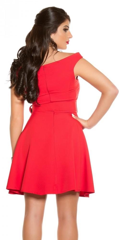 3880546908 Piros alkalmi ruha övvel - Női ruha webáruház, női ruhák online - HG ...