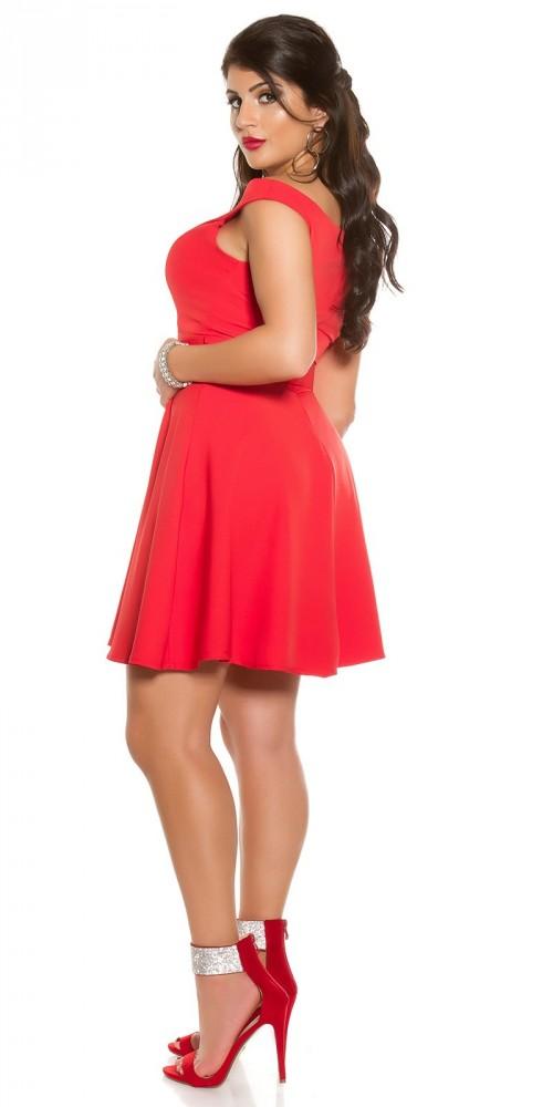 7b74e22ac7 Piros alkalmi ruha övvel - Női ruha webáruház, női ruhák online - HG ...