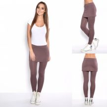 Kapucsínó 2in1 leggings