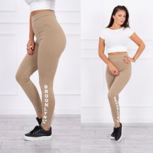 Camel leggings