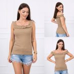 Camel fodros top
